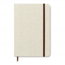 A5 notitieboek, canvas CANVAS - beige