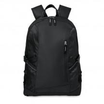 Polyester laptoprugtas TECNOTREK - black