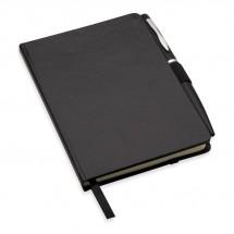 A6 notitieboekje met balpen NOTALUX - zwart