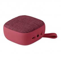 Vierkant bluetooth luidspreker ROCK - burgundy