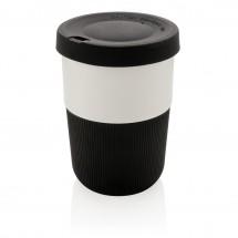 PLA cup coffee to go 380ml, zwart - zwart