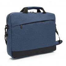 "Basic 15"" laptop tas, blauw"