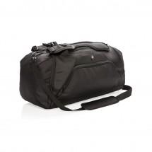Swiss Peak RFID sporttas & rugzak, zwart