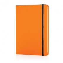 A5 Basic hardcover PU notitieboek, oranje