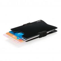 Aluminium RFID ant-skimming portemonnee, zwart