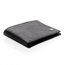 RFID anti-skimming portemonnee - zwart/zwart