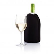 Wijnkoeler hoes, zwart