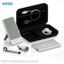 Deluxe traveling kit 4000 mAh - zwart