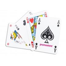 Poker Speelkaartenkarton (Superluxe), verpakt in cellofaan en kartonnen vouwdoosje