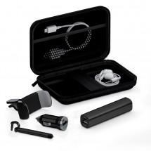 Deluxe traveling kit 2200 mAh - zwart