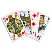 Bridge Speelkaartenkarton (Superluxe), verpakt in cellofaan en kartonnen vouwdoosje