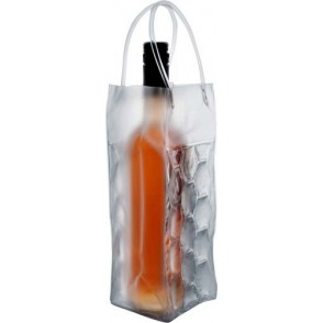 Transparante PVC koeltas 'Iceberg'