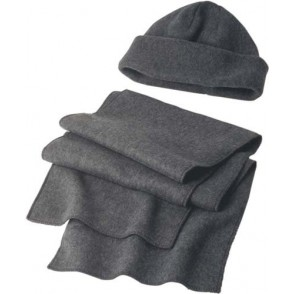 Muts en sjaal van fleece 'Salzburg'
