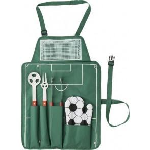 Voetbal BBQ set 'Goal'