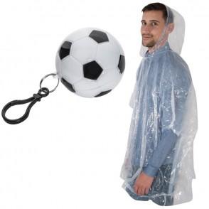 Regenponcho in voetbal