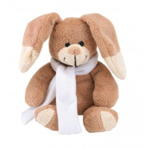 "Plush rabbit ""Paul"" with scarf"