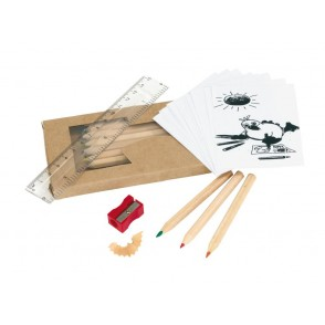 """Pencil set """"Being Busy"""""""