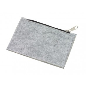 "felt coin purse ""Collector"""