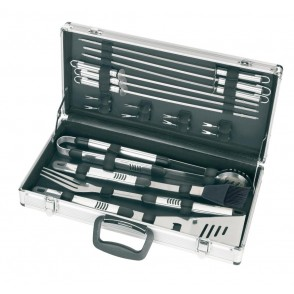 "BBQ set with silver case ""Summer season"""