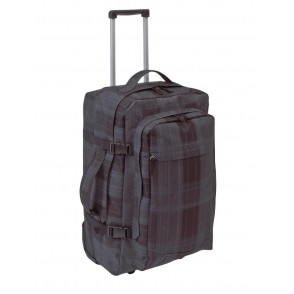 Trolley- backpack  Checker  600D,grey