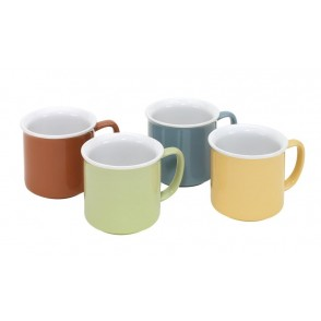 "coffee mug Set ""4 Seasons"""