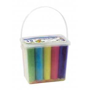 "Chalks ""Avenue"" in square bucket"