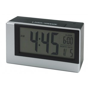"Alarm clock w. light sensor ""Smoulder"""