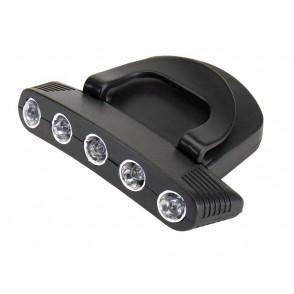 """Cap Light with 5 LED """"Super Nova"""""""