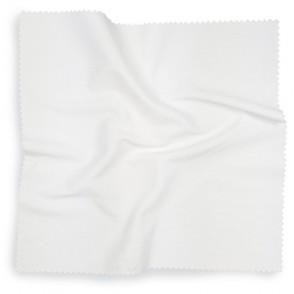 Brillendoekje Wit, 20*20 cm