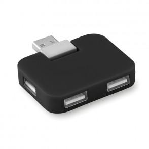 USB Hub, 4 poorten SQUARE