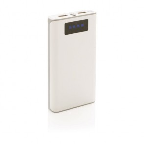 10.000 mAh powerbank met display , wit