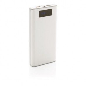 20.000 mAh powerbank met display , wit