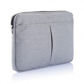"""PVC vrije laptop hoes 15,4"""" grijs"""