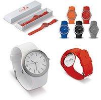 Horloge met logo bedrukken