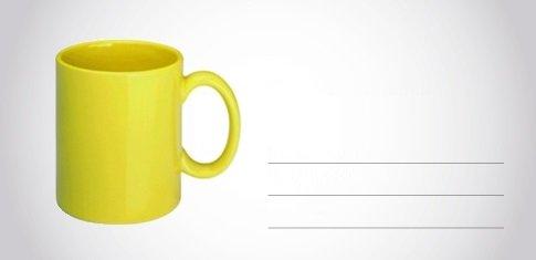 Bedrukte koffiemokken met logo