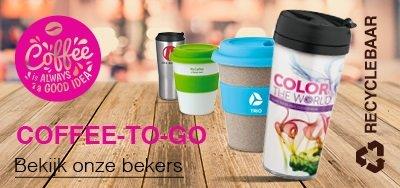 Coffee-to-go beker bedrukken