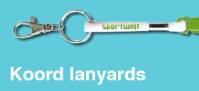 Koord-lanyards met logo