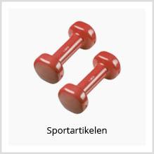 Sportartikelen als relatiegeschenk