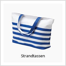 Strandtassen als relatiegeschenk