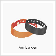 Armbanden als giveaway bedrukken