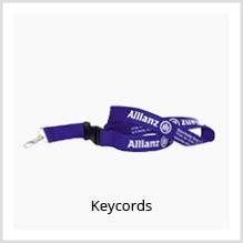 Keycords als giveaway bedrukken