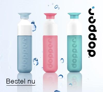 Dopper flessen met logo bedrukken