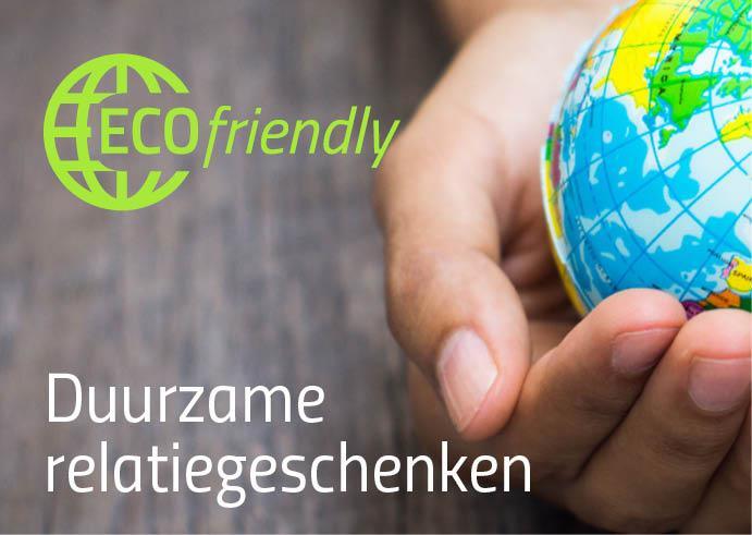 Duurzame relatiegeschenken of eco artikelen met logo bedrukken