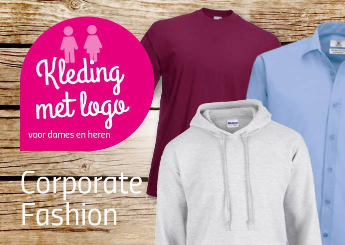 Kleding of textiel met logo bedrukken