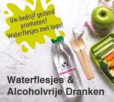 Waterflesjes met logo bedrukken